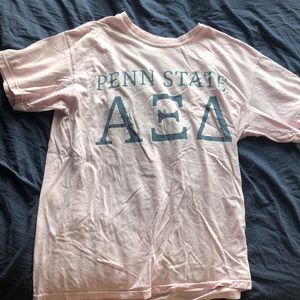 Penn state Alpha Xi Delta sorority shirt